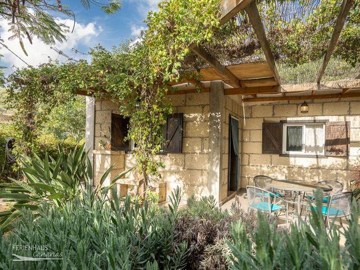 Teneriffa Süd - freistehendes Ferienhaus mit Privatpool, Garten & W-Lan - La Candelaria