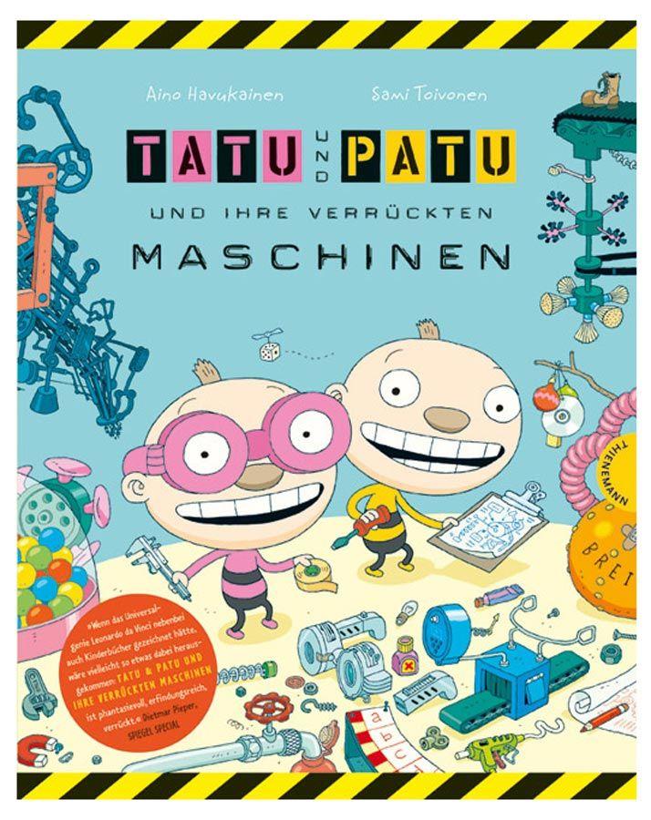 tatu und patu und ihre verrückten maschinen - toivonen