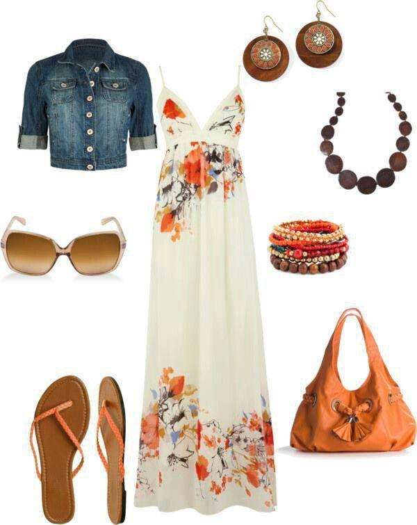 Summer maxi dress!