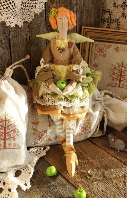 Куклы Тильды ручной работы. интерьерная текстильная кукла в стиле тильда Кухонная фея. Наташа Веткова (Сундучок счастья). Интернет-магазин Ярмарка Мастеров.