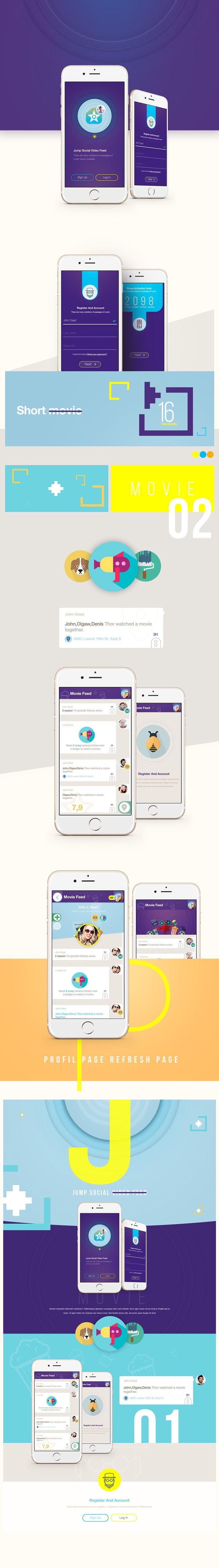 Cineapp on App Design Served