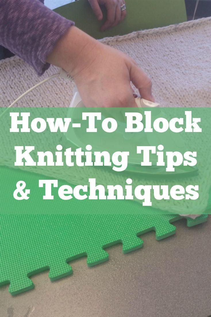 Anleitung zum Blockieren des Strickens Ultimate Guide: Wet Blocking & More