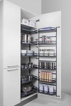 Küchenschrank-Innenausstattung: Auszüge, Einsätze & Co.