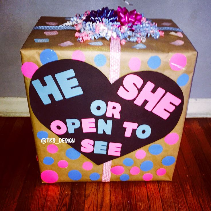 Wanna reveal the sex of your baby to family & friends we'll fill up the box with either pink or blue balloons and open the box to reveal the balloons