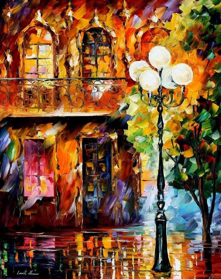 Leonid Afremov Love Painting | El arte de Leonid Afremov | Humanismo y Conectividad