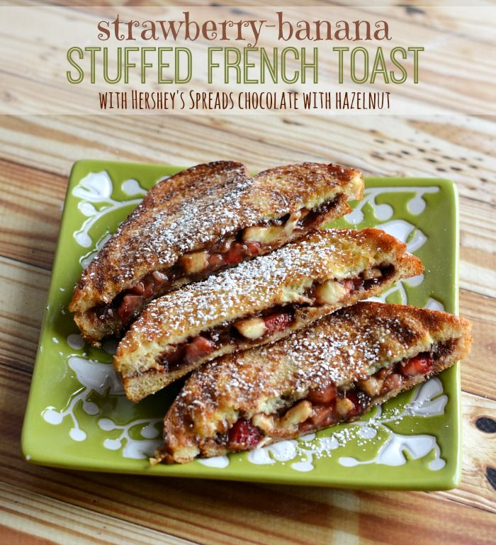 Banana-Stuffed French Toast (on The Panini Grill) Recipe — Dishmaps