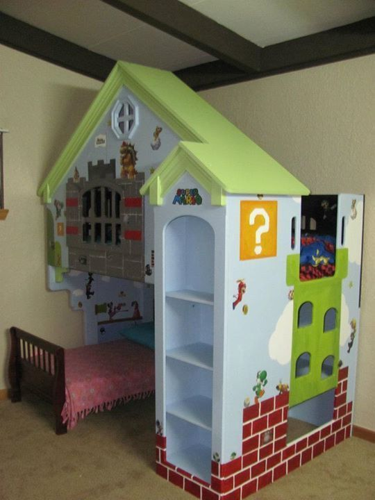 Custom Super Mario Bed For Sale!