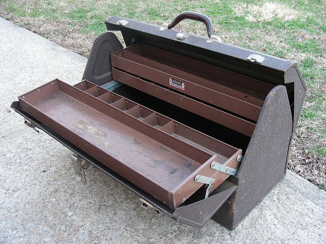 vintage tool box | Kennedy Kits Vintage service man's tool box | Flickr - Photo Sharing!