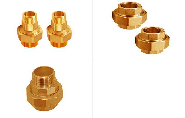 Brass Pipe Unions #BrassPipeUnions