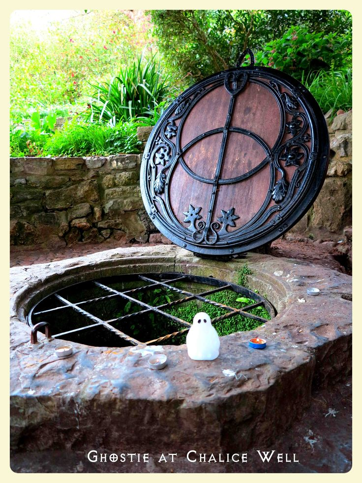 Chalice Well - what an amazingly powerful place - Glastonbury England