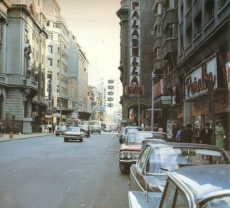 Calle Ahumada 1970