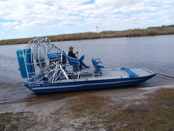 Panther Airboats Airboat Boat Panther