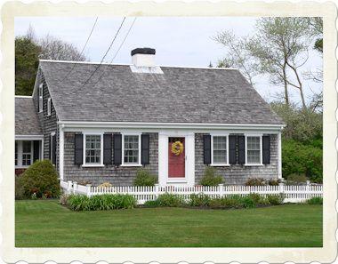cape cod house colors for guest cottage - Cape Cod Style House Colors