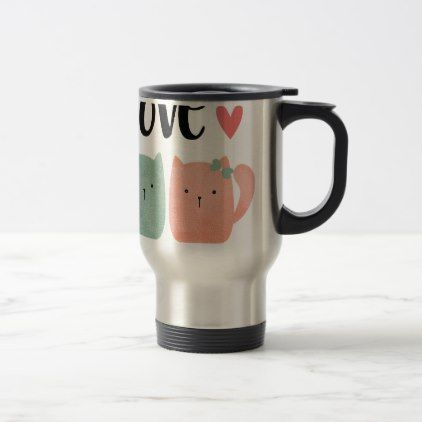 #Cats Travel Mug - #travel #accessories