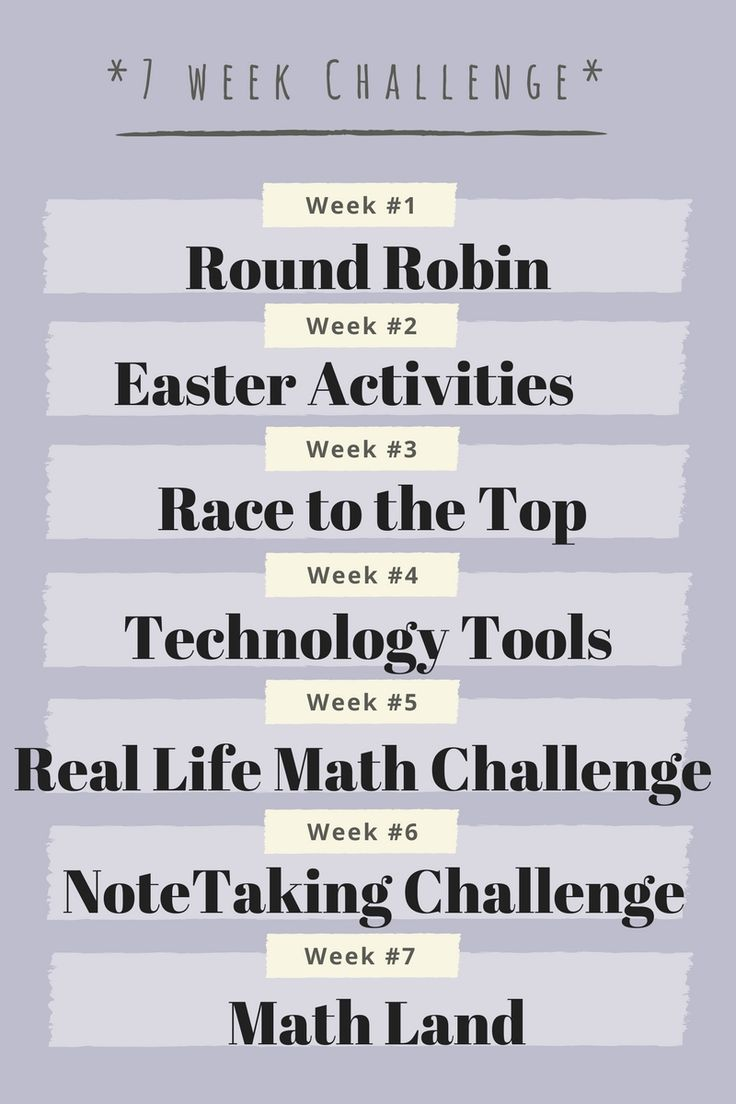 Are you looking for new games, strategies, teaching resources? Join our 7 week math challenge! https://www.facebook.com/groups/1321568027929790/ Begins April 3rd - April 7th!