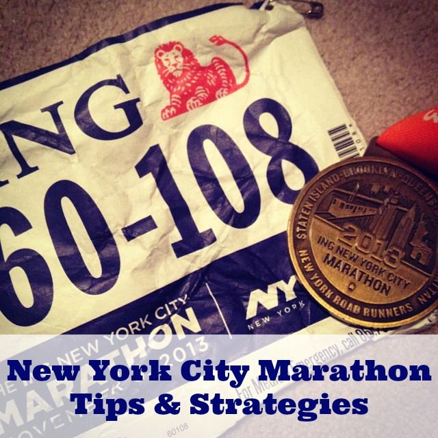 Running the NYC Marathon this year? Check out my marathon tips and strategies!