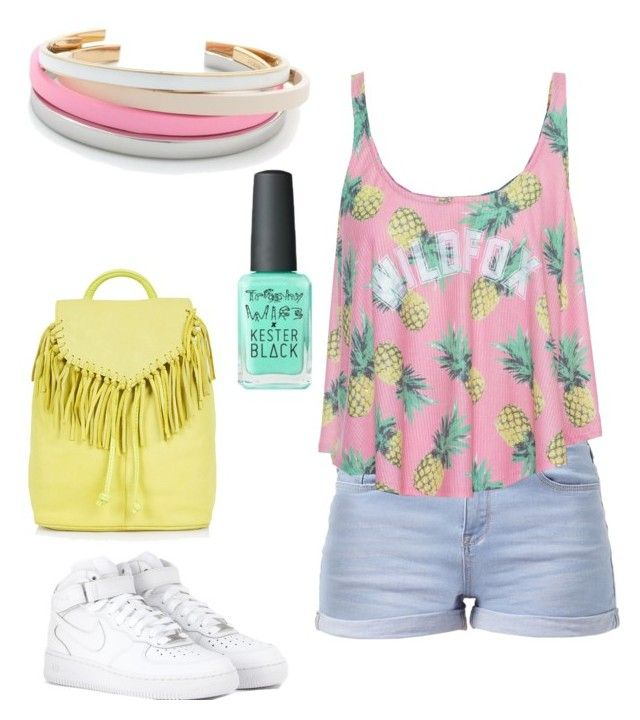 summer/spring by tayken3 on Polyvore featuring polyvore fashion style Wildfox NIKE Topshop J.Crew clothing