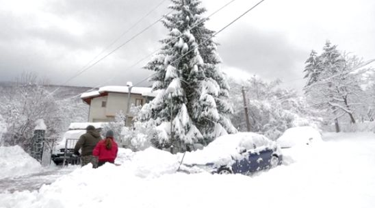 Планета Земля и Человек: Восточная Европа во власти снегопадов
