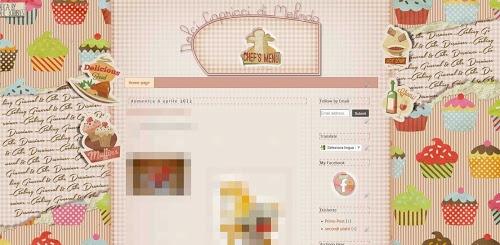 ... e al via un nuovo food blog con una grafica divertente