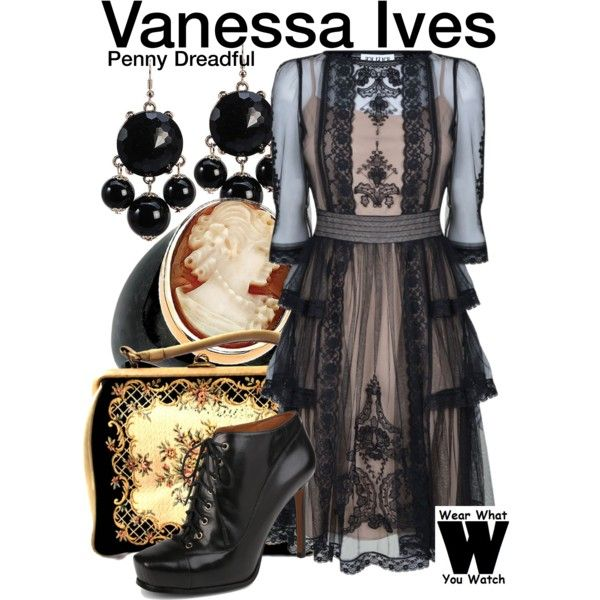 Inspired by Eva Green as Vanessa Ives on Penny Dreadful.