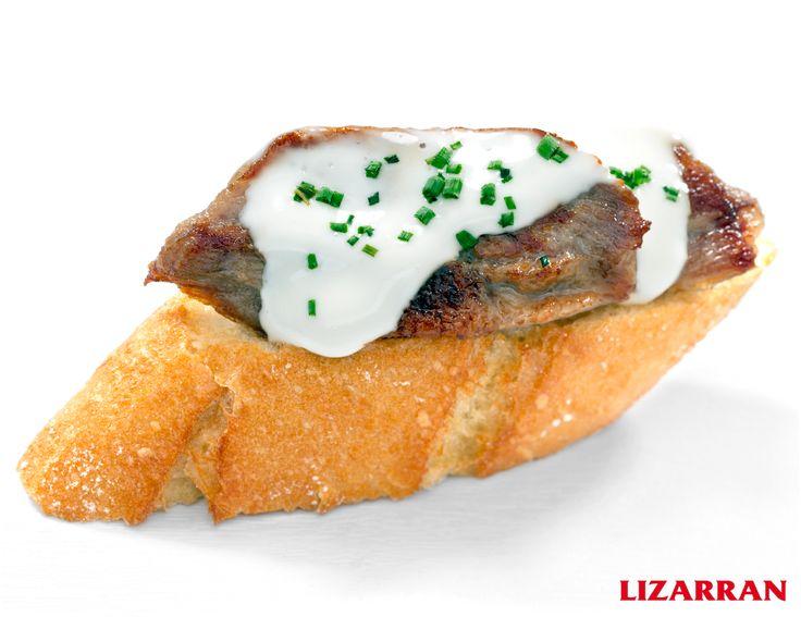 Secreto con Gorgonzola #Lizarran #Pinchos