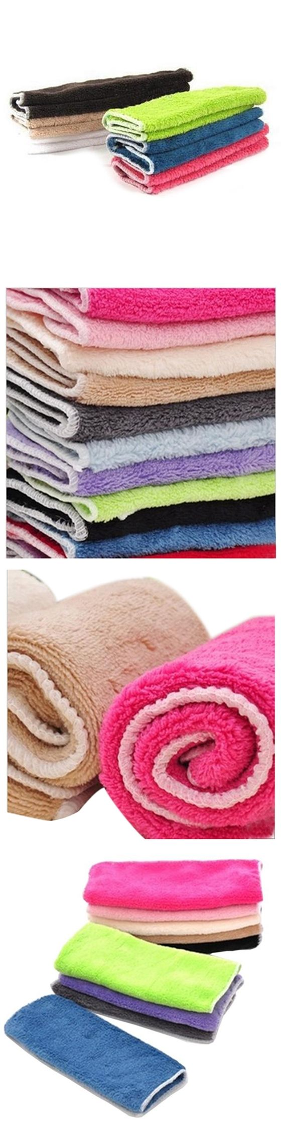 HOT GCZW-Anti-grease Cloth Bamboo Fiber Washing Towel Magic Kitchen Cleaning Wiping Rags