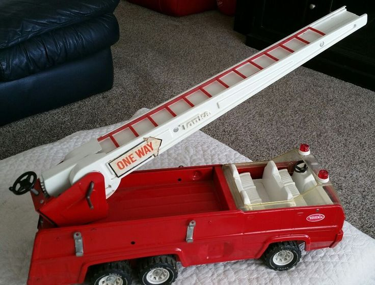 VINTAGE TONKA FIRE TRUCK ORIGINAL PRESSED STEEL COLLECTIBLE! #Tonka