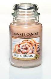 Grande Jarre Pain Aux Raisins Yankee Candle