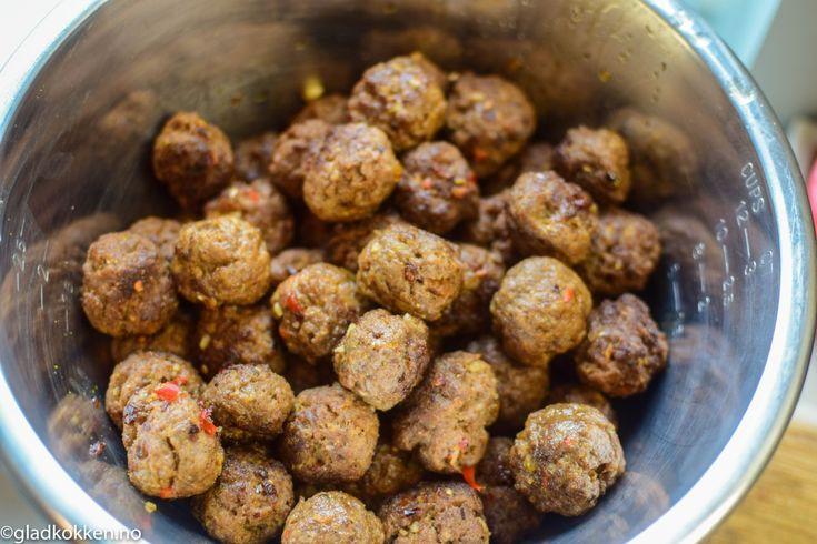 Hjemmelagde kjøttboller - Fyll opp fryseren!