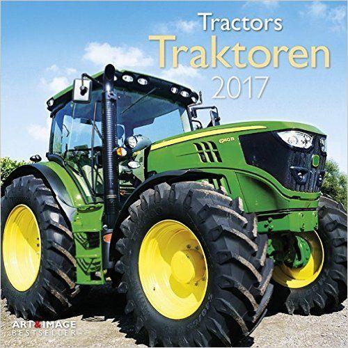 Traktoren 2017, Traktoren, Landmaschinen, Nutzfahrzeuge, Posterkalender - 30 x 30 cm:  [...Ein Muss für alle Trecker-Fans...]