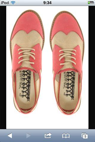 Enlarge F-Troupe Mesh Saddle Shoes