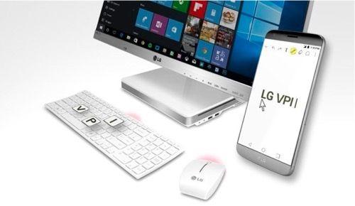 LG lanza VPInput una app para controlar los Smartphones G5 G4 y V10 con el ordenador   A menudo se dice que nuestros smartphones son como pequeños ordenadores de bolsillo pero lo cierto es que no hay nada como un ordenador de escritorio para trabajar. Microsoft llevó esta idea a un nuevo nivel con la llegada de Continuum un sistema que permite conectar una pantalla un ratón y un teclado a un móvil con Windows 10 y usarlo como si fuera un PC de escritorio.  La propuesta que acaba de anunciar…