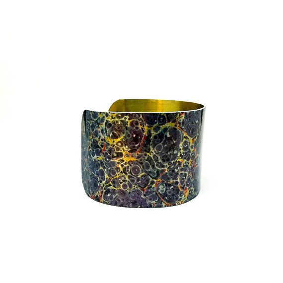 Find JDzigner at http://www.jdzigner.com !!! Gorgeous Double Sided Aluminium Cuff Bracelet by JDzigner