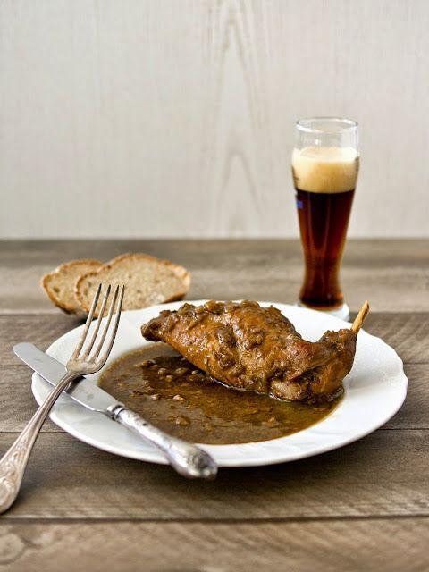 Pradobroty: Králík na černém pivu podle Vaňka