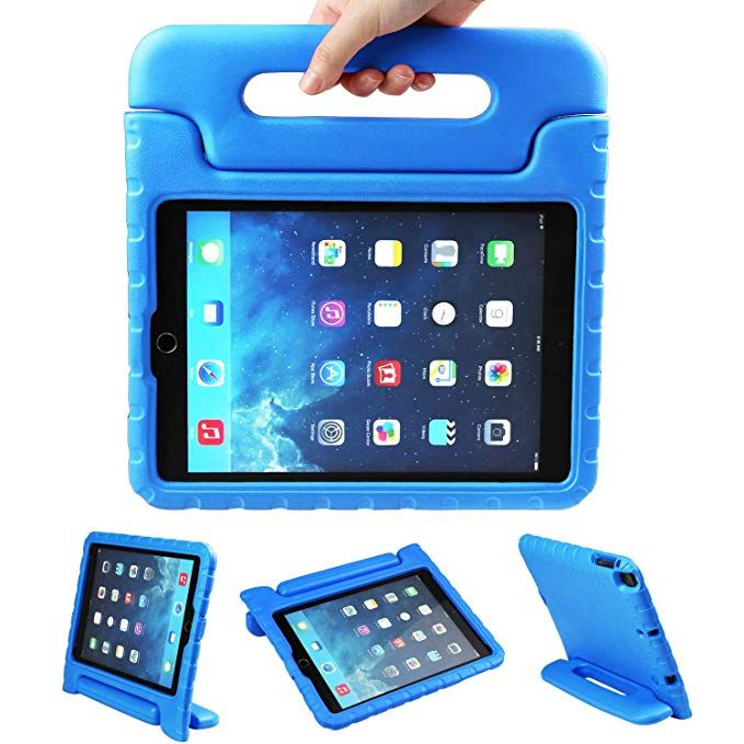 Newstyle Apple Ipad Air 2 Case Shockproof Case Light Weight Kids Case Super Protection Cover Handle Stand Case For Kids Children For Apple Ipad Air 2 Ipad Air 2 Cases