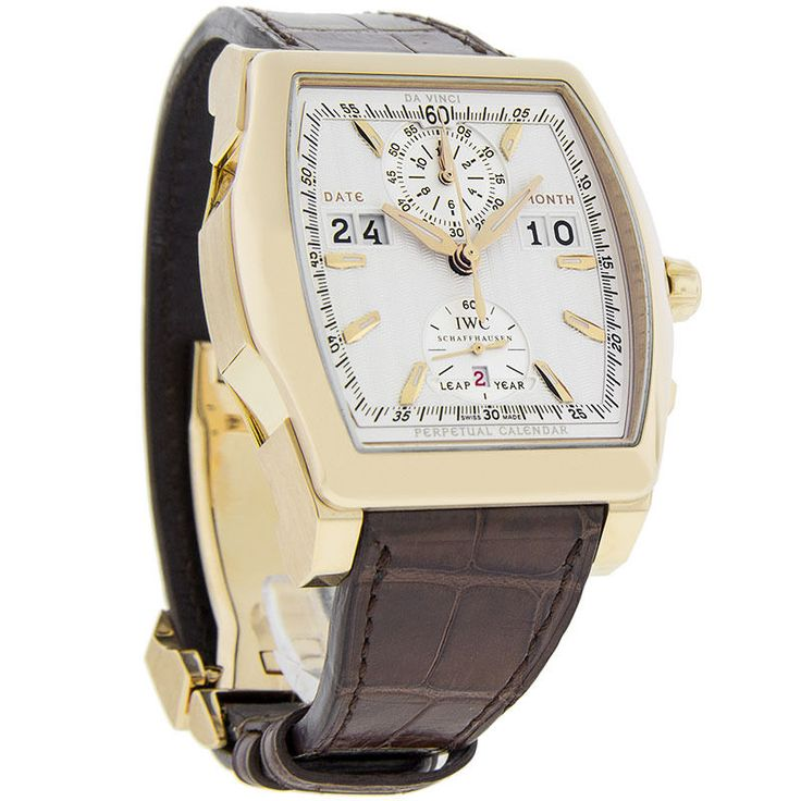 IWC Schaffhausen Da Vinci Perpet Mens 18K Gold Swiss Automatic Watch IW376102 - http://menswomenswatches.com/iwc-schaffhausen-da-vinci-perpet-mens-18k-gold-swiss-automatic-watch-iw376102/ COMMENT.