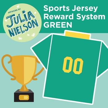 This reward system includes a simple origami template complete with instructions that folds to make sports jerseys with numbers ranging 1-99. All you have to do is choose a colour combination (there are 9 variations within the set) and print the A4 pages you want from the high quality PDF file, two jerseys fit on 1 A4 page.