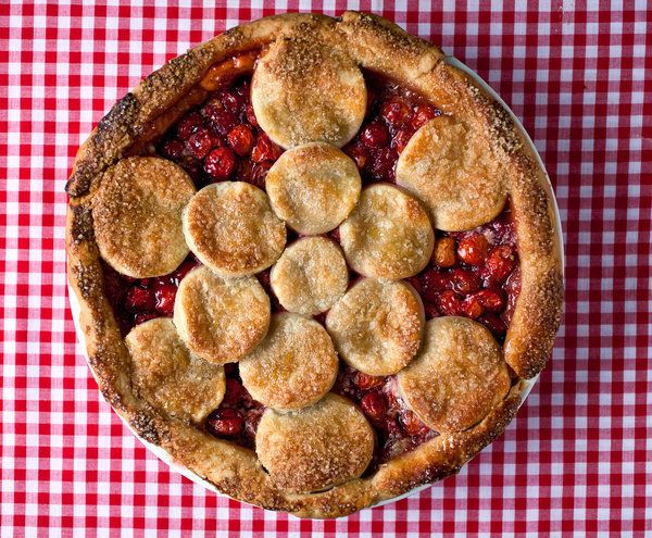 Twice-Baked Sour Cherry Pie Recipe - NYT Cooking
