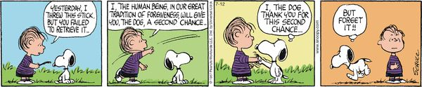 Snoopy has better things to do. Peanuts for 7/12/2014 | Peanuts | Comics | ArcaMax Publishing