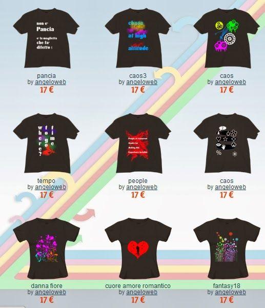 Magliette Personalizzate a partire da 14.90€