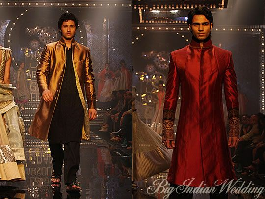 Manish Malhotra Latest Collections of Indian Top Designer Men Sherwani Designs for Weddings & Parties 2015  (4)