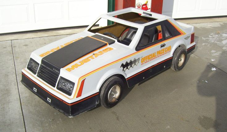 Pace Car Partner: 1979 Mustang Go Cart - http://barnfinds.com/pace-car-partner-1979-mustang-go-cart/