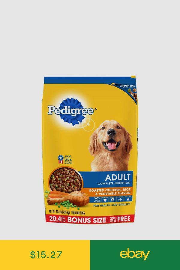 Pedigree Dog Food Pet Supplies Ebay Dog Food Recipes Dry Dog