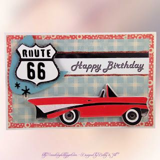 16 best race car birthday cards images on pinterest masculine birthday card using nifty fifties cartridge bookmarktalkfo Image collections