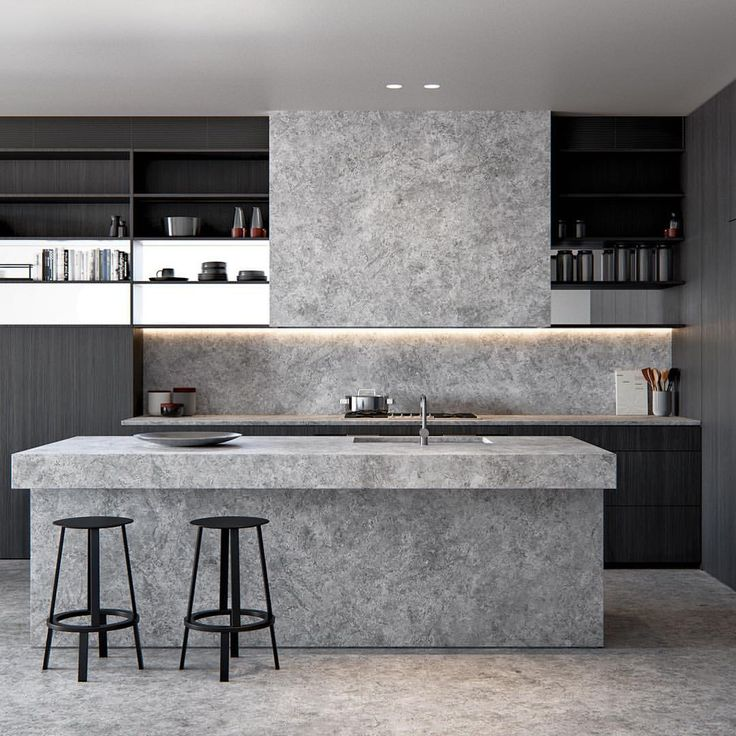 Cool Calm And Functional Kitchen: @31broadbeach_ Apartments Are A Retreat, A Cool Sanctuary