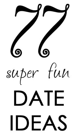 Cheap Date Night Ideas..This is the best one I've seen :)