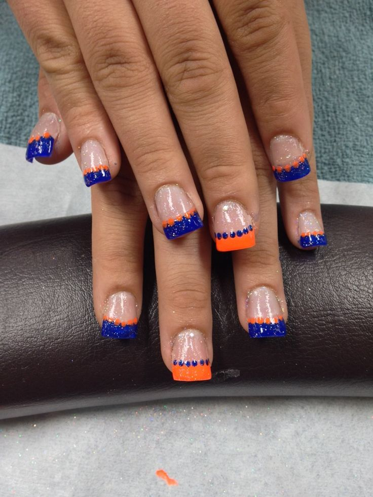 denver broncos nail art - Google Search