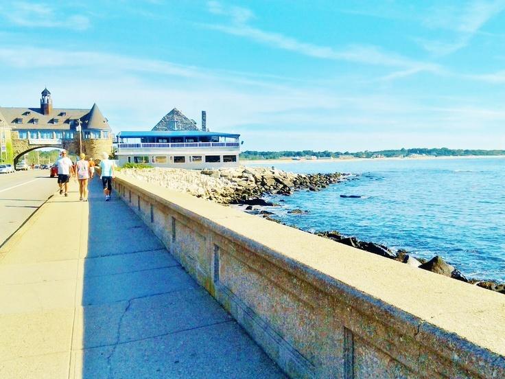 The Wall - Narragansett, Rhode Island