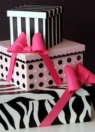 Bellas cajas decorativas para regalo