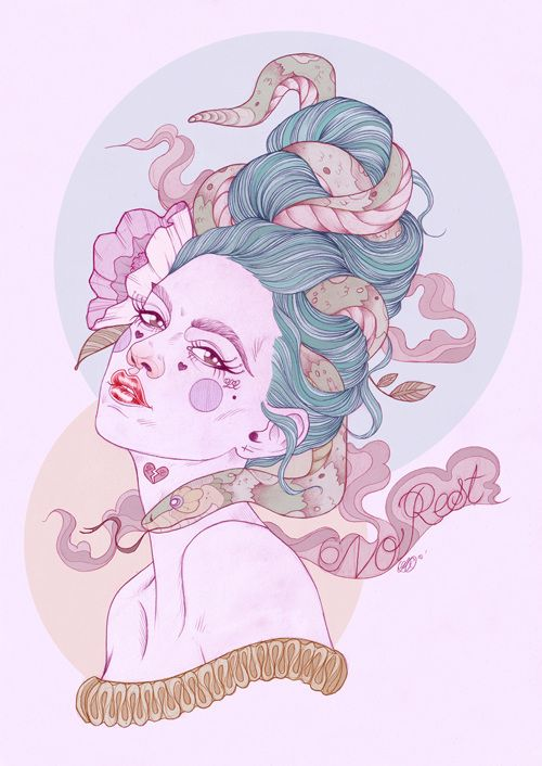 Tattooed Illustrations by Liz Clements